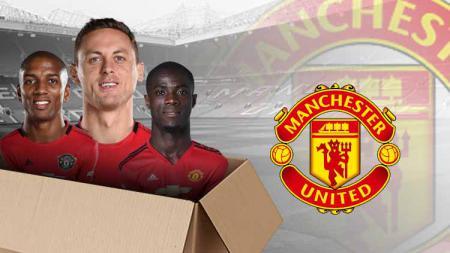Manchester United bersih-bersih. - INDOSPORT