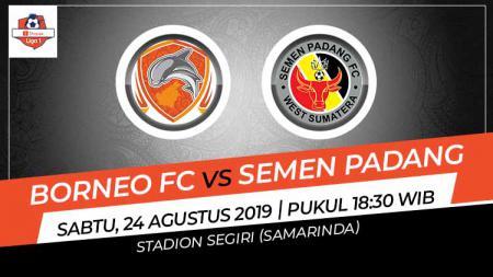 Pertandingan Borneo FC vs Semen Padang. - INDOSPORT