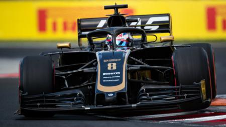 Romain Grosjean dari tim Haas F1. - INDOSPORT