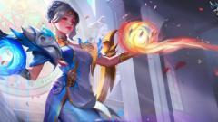 Indosport - Hero Lunox di game Mobile Legends.