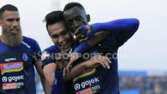 Indosport - Makan Konate termasuk dalam daftar pemain asing yang tak dipertahankan Arema FC untuk Liga 1 2020.