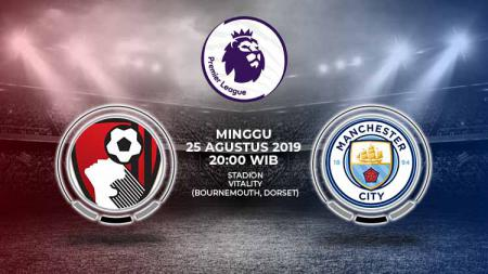 Pertandingan AFC Bournemouth vs Manchester City. - INDOSPORT