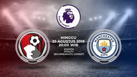 Pertandingan AFC Bournemouth vs Manchester City. - INDOSPORT