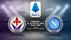 Indosport - Pertandingan Fiorentina vs Napoli.
