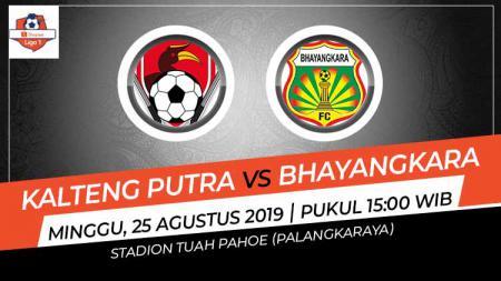 Pertandingan Kalteng Putra vs Bhayangkara FC. - INDOSPORT