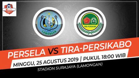 Pertandingan Persela Lamongan vs Tira-Persikabo. - INDOSPORT