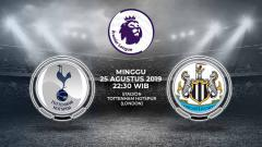 Indosport - Pertandingan Tottenham Hotspur vs Newcastle United.