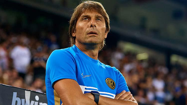 Antonio Conte, pelatih Inter Milan. Copyright: MB-Media/GettyImages