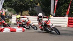 Indosport - Ajang balap motor Honda Dream Cup