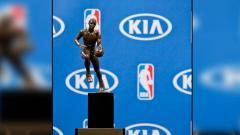 Indosport - Trofi MVP NBA