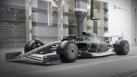 Konsep mobil balap Formula 1 untuk musim 2021. - INDOSPORT