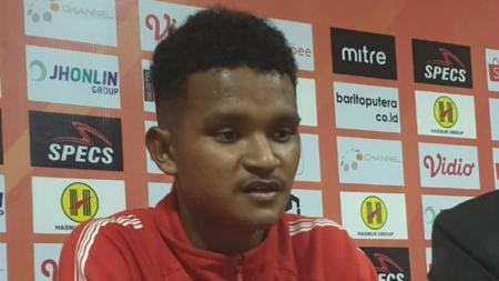Bek Muda klub Liga 1 Persipura Jayapura, David Kevin Rumakiek. - INDOSPORT