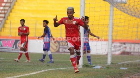 Persis Solo berhasil mengalahkan PSBS Biak Numfor dengan skor 3-0 lanjutan pekan ke-19 Liga 2 2019 di Stadion Wilis, Madiun, pada Rabu (9/10/19) sore. - INDOSPORT