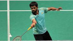 Indosport - Sai Praneeth pebulutangkis asal India yang berhasil kalahkan Jonatan Christie.