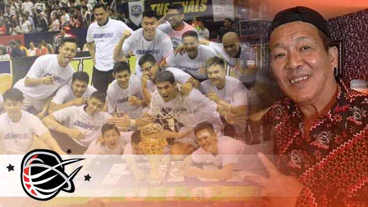 Pelatih yang biasa disapa Kim Hong saat berhasil membawa juara Stapac Jakarta. Copyright: INDOSPORT