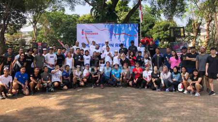 Smile Train Indonesia sukses gelar Smile Train Run 2019 yang dihadiri lebih dari 300 pelari pada, Sabtu (24/08/19) di Blok M, Jakarta Selatan. - INDOSPORT