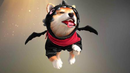 pet baru di game eSports Free Fire, bernama Shiba. - INDOSPORT