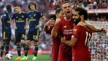 Liverpool berpesta di Anfield dengan menaklukan Arsenal dengan skor 3-1. - INDOSPORT