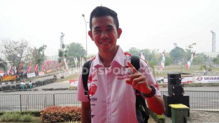 Gerry Salim, pembalap Moto2 FIM CEV, yang juga fans klub Persebaya Surabaya. - INDOSPORT