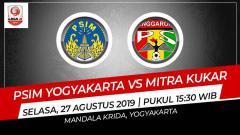 Indosport - Prediksi PSIM Yogyakarta vs Mitra Kukar.