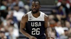 Indosport - Pemain Boston Celtics dan Timnas Basket Amerika, Kemba Walker.