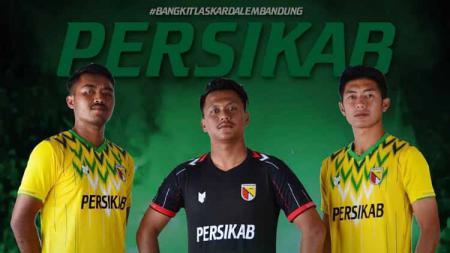 Penampilan jersey Persikab Bandung. - INDOSPORT