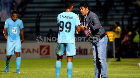 Nilmaizar berharap para pemain Persela Lamongan bisa memiminimalisir kesalahan saat berhadapan dengan Arema FC. - INDOSPORT