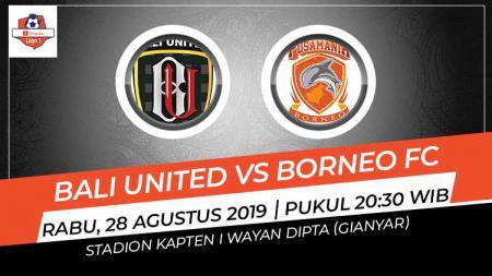 Pertandingan Bali United vs Borneo FC. - INDOSPORT