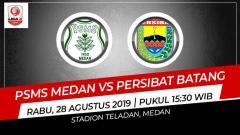 Indosport - Prediksi PSMS Medan vs Persibat Batang.
