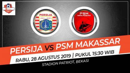 Prediksi Persija Jakarta vs PSM Makassar di Liga 1 2019. - INDOSPORT