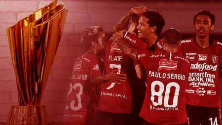 Bali United ingin mengejar gelar juara Liga 1 2019 sebelum pertandingan terakhir pada pekan ke-30 dan sekaligus menjadi yang tercepat di era Liga Indonesia. - INDOSPORT