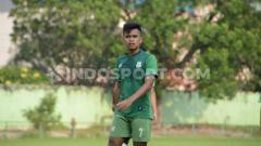 Indosport - Pemain Anyar PSMS Medan, Tedi Berlian.