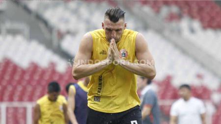 Dua striker klub Liga 1, Ilija Spasojevic dan Marko Simic, dilirik klub Liga Champions Asia. - INDOSPORT