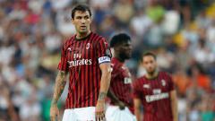 Indosport - Para penggawa AC Milan.