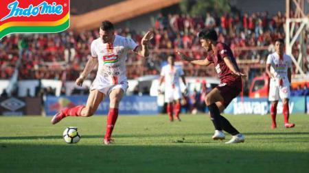 Pertandingan PSM Makassar vs Persija Jakarta di Piala Indonesia. - INDOSPORT
