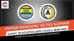 Indosport - Prediksi pertandingan Persib Bandung vs PSS Sleman.