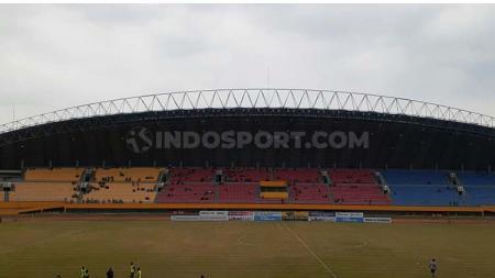 Stadion Gelora Sriwijaya, markas Sriwijaya FC. Foto: Muhammad Effendi - INDOSPORT