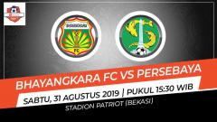 Indosport - Bhayangkara FC vs Persebaya Surabaya (Prediksi).