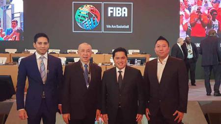 Federasi Bola Basket Dunia (FIBA), menerima laporan PP Perbasi soal persiapan FIBA World Cup 2023. Zainal Hasan/INDOSPORT. - INDOSPORT