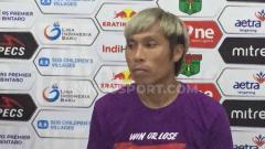 Indosport - Asri Akbar usai jalani debut bersama Persita di Liga 2