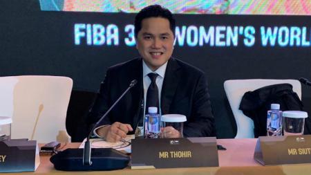 Ketua Umum Komite Olimpiade Indonesia, Erick Thohir kembali dipercaya menjadi anggota Central Board Federasi Bola Basket Internasional FIBA tahun 2019 - 2023 di Beijing, 29 Agustus 2019. - INDOSPORT