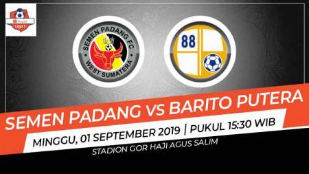 Prediksi Semen Padang vs Barito Putera. - INDOSPORT