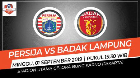 Pertandingan Persija Jakarta vs Badak Lampung. - INDOSPORT
