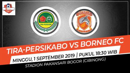 Pertandingan Tira-Persikabo vs Borneo FC. - INDOSPORT