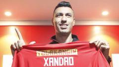 Indosport - Xandao resmi diperkenalkan Persija kepada publik.