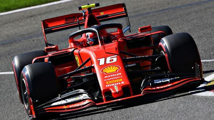 Charles Leclerc, pembalap Ferrari. Copyright: Sky Sports
