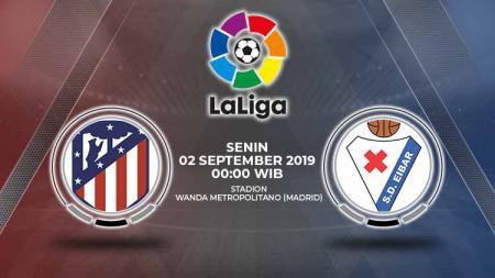Pertandingan Atletico Madrid vs Eibar. - INDOSPORT