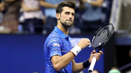 Ayah dari petenis Serbia Novak Djokovic, Srdjan Djokovic, menyatakan bahwa anaknya akan menjadi petenis terhebat dalam sejarah dunia tenis. - INDOSPORT
