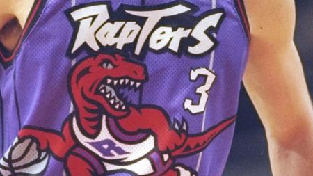 Jersey lama Toronto Raptors yang akan dikenakan pada musim 2019/20. - INDOSPORT