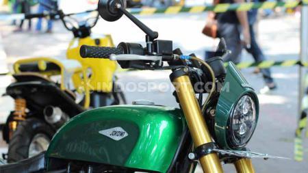 Motor Jokowi hingga aksesoris antik, manjakan pecinta otomotif di acara Otobursa Tumplek Blek 2019. - INDOSPORT